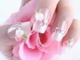 наращивание и дизайн ноктей